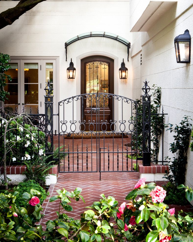 Trulia San Francisco for a Traditional Entry with a Front Door and San Francisco Residence by Kriste Michelini Interiors
