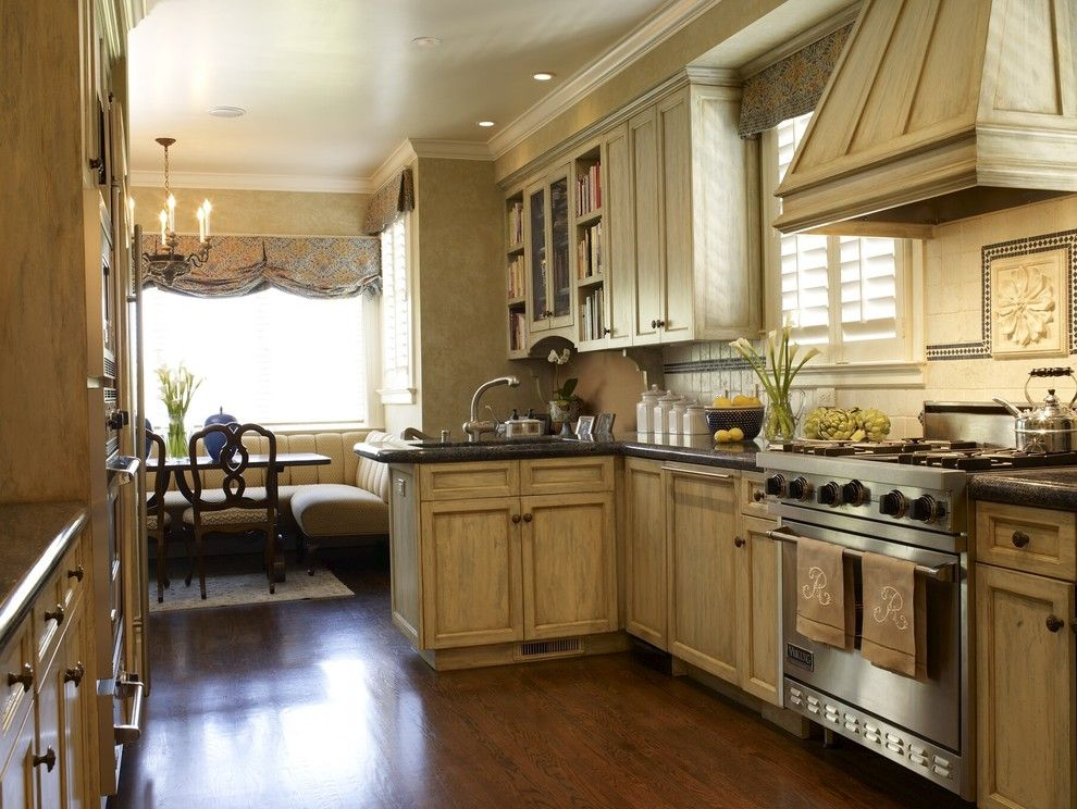 Trulia San Francisco for a Traditional Kitchen with a Monogram and San Francisco Pacific Heights Residence by Tres Mckinney Design