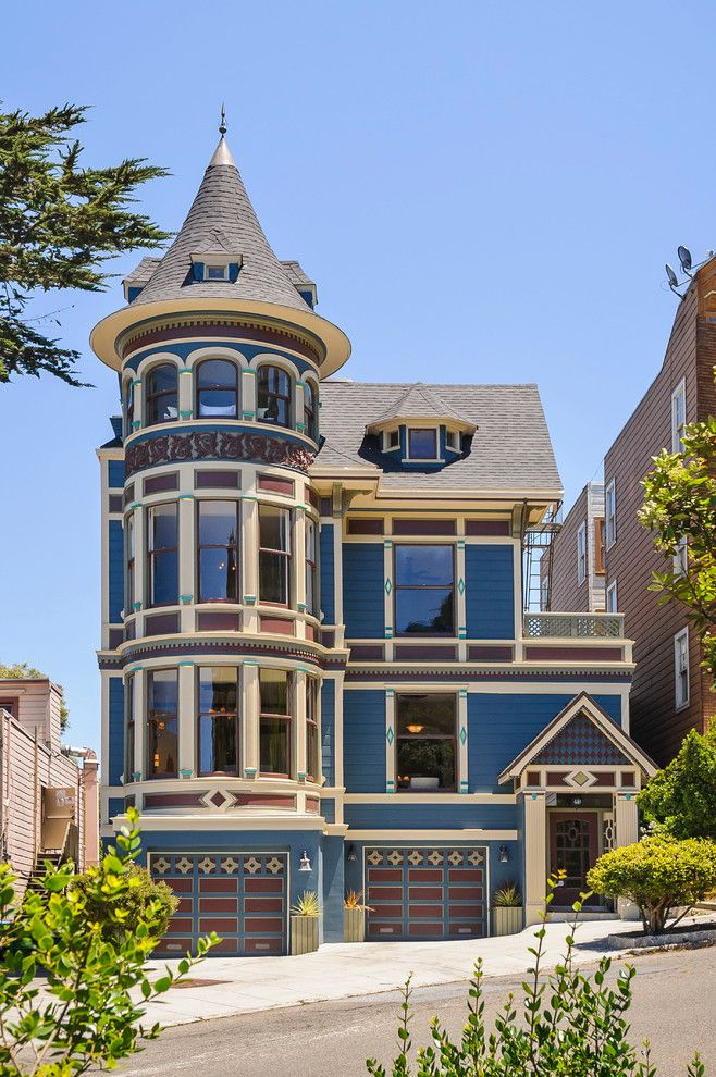 Trulia San Francisco for a Victorian Exterior with a Decorative Shingles and Buena Vista Beauty by Dennis Mayer, Photographer
