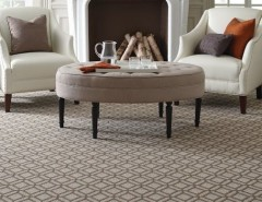 Tuftex Carpet for a Contemporary Living Room with a Carpet Runner and Tuftex Carpets by Floors Direct North