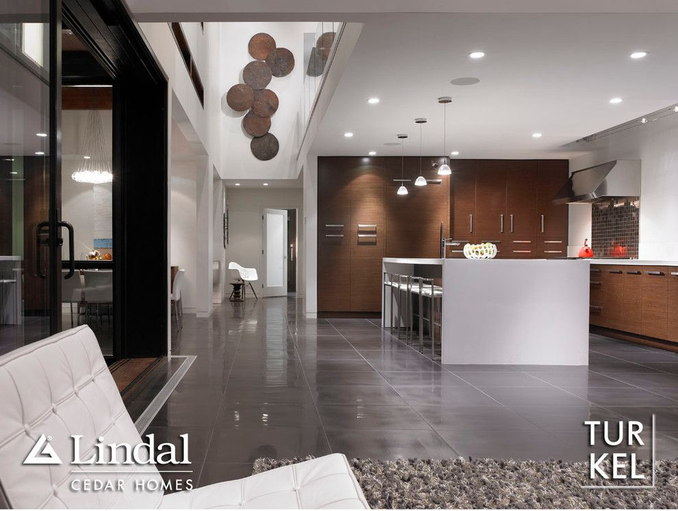 Turkel Design for a  Kitchen with a  and Modern Turkel Design by a Cut Above