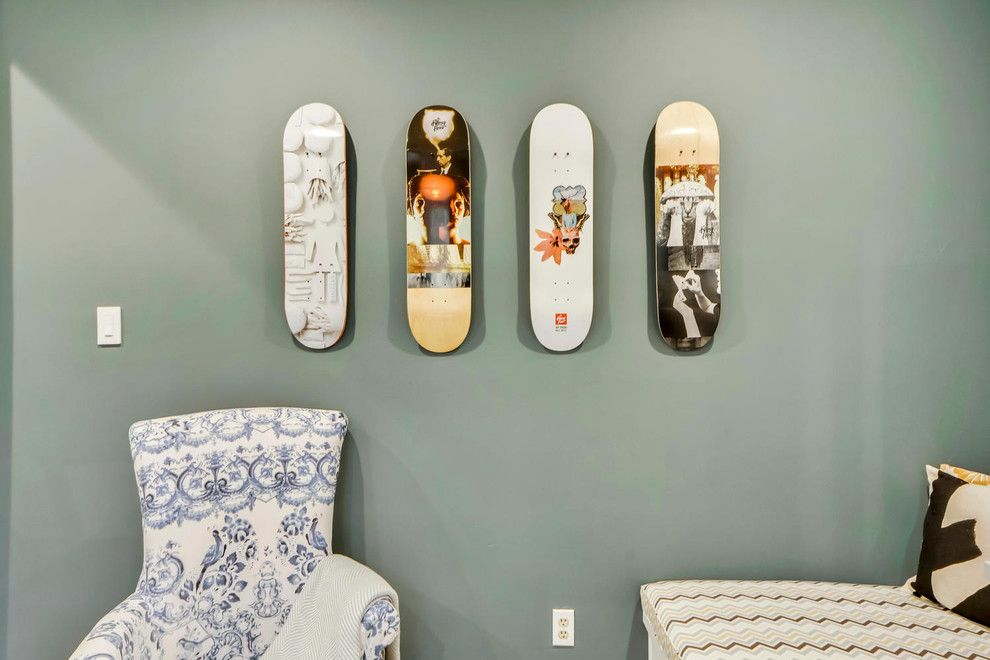 Turnstyle for a Traditional Spaces with a Mixed Colors and Work and Play for Grown Ups and Kids by Turnstyle Design