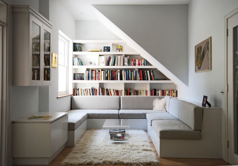 U Save Rockery for a Contemporary Living Room with a Rug and House in Chevening Road by Alex Findlater Ltd