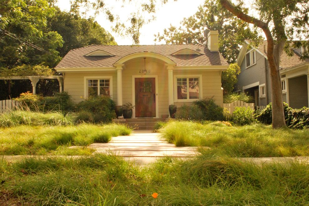 U Save Rockery for a Transitional Landscape with a Meadow and South Pasadena Eclectic by June Scott Design