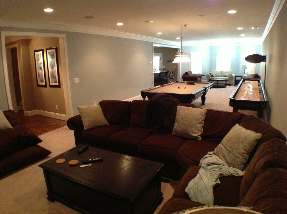 Unfinished Basement Ideas for a Traditional Basement with a Basements and Kennesaw Basement by the Southern Basement Company