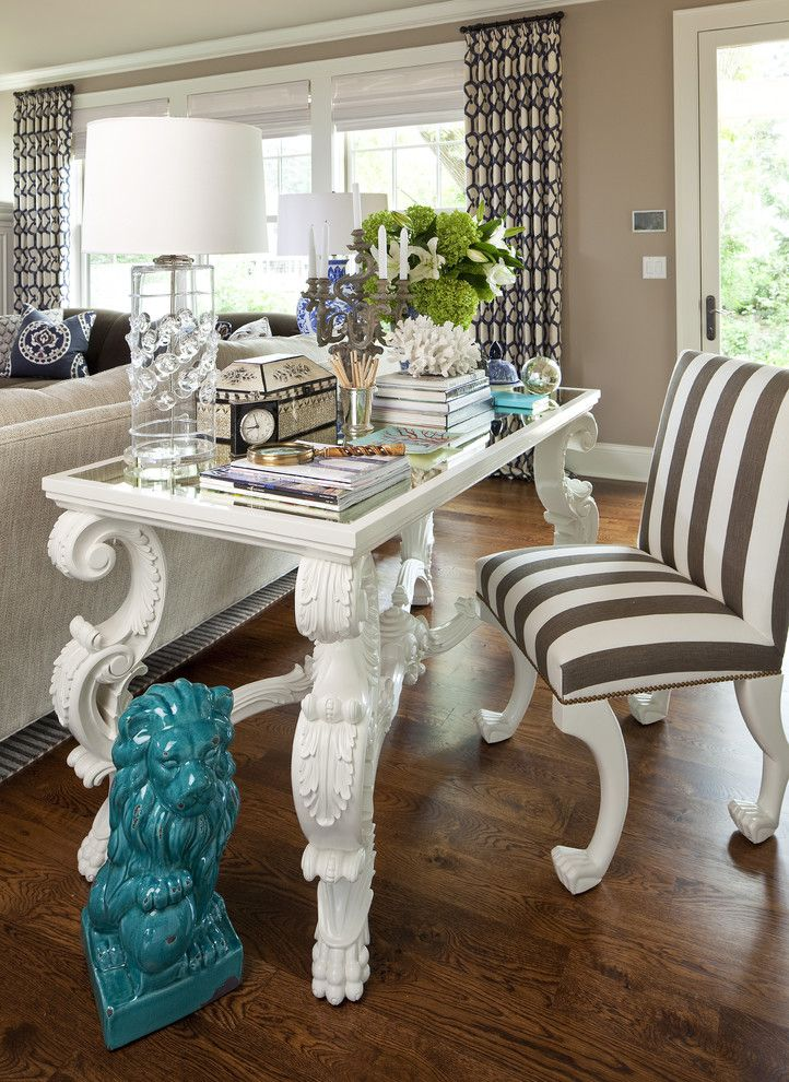 Valley Forge Flowers for a Eclectic Home Office with a Eclectic and Eclectic Home Office by Oharainteriors.com