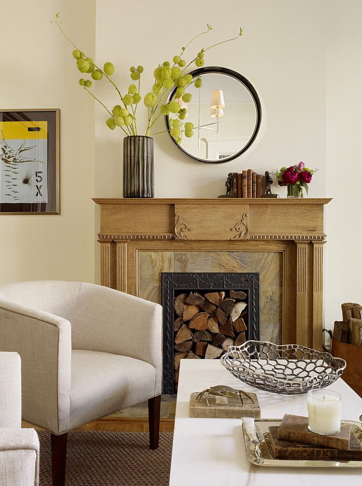 Valley Forge Flowers for a Transitional Living Room with a Artwork and Noe Valley Living Room by Jute Interior Design