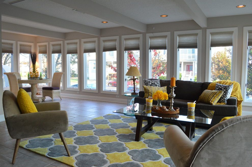 Value City Furniture Nj for a Beach Style Family Room with a Home Stagers and Luxury Home Staging in Ocean City, Nj 08226 Cape May County, Nj by Beautiful Interiors Design Group