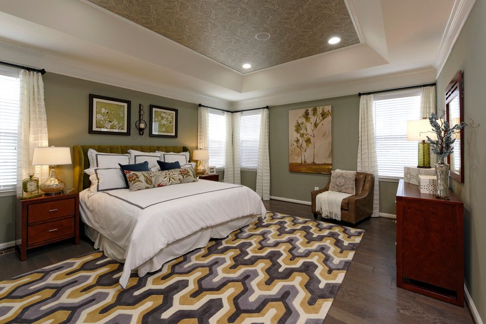 Van Metre Homes for a Modern Bedroom with a Cedarwood and the Waverly Model at Cedarwood by Van Metre Homes Design Studio
