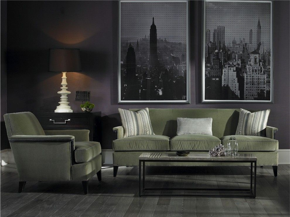 Vanguard Furniture for a  Living Room with a Sofa and Living Room - Vanguard Furniture by Luxe Home Philadelphia