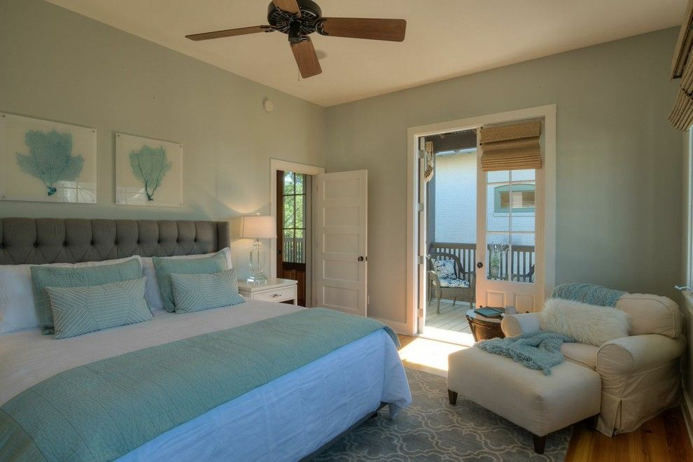 Vrbo Rosemary Beach for a Beach Style Bedroom with a Beach Design and Rosemary Beach Renovation by 30A Interiors