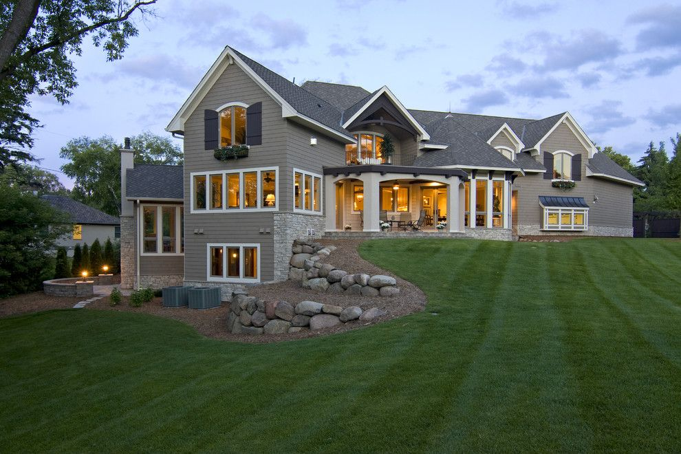 basement house plans. Walkout Basement House Plans for a Traditional Exterior with Turf and  Spur Road Edina