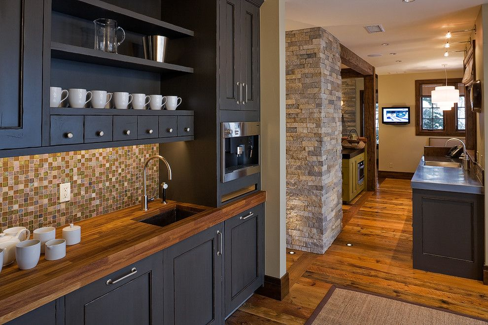 Walnut Creek Medical Group for a Rustic Kitchen with a Frame and Panel and Beaver Creek Remodel by Studio Spinnato, Inc.