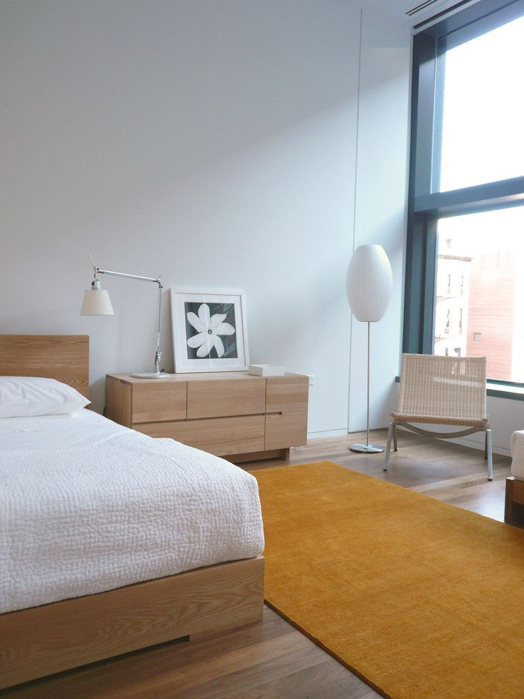 Walters Wicker for a Scandinavian Bedroom with a Rattan and 40 Mercer by West Chin Architects & Interior Designers