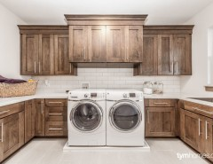 """Wardcraft Homes for a  Laundry Room with a Luxury Home and """"Home for the Holidays"""", 2015 Utah Valley Parade of Homes by Handcrafted Homes by TYM Smart Homes & Home Theaters"""
