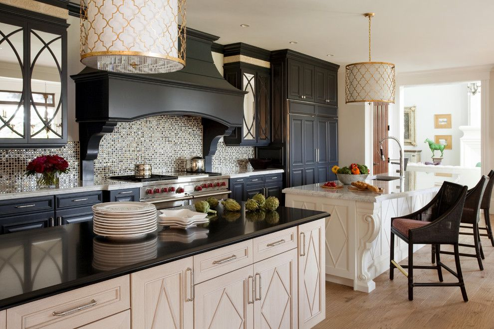 Warner Robins Supply for a Contemporary Kitchen with a Island Lighting and Summer Home on Martha's Vineyard by Robin Pelissier Interior Design & Robin's Nest