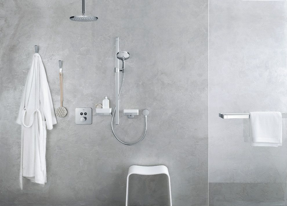 Water Spicket for a Modern Bathroom with a Handshower and Hansgrohe by Hansgrohe Usa