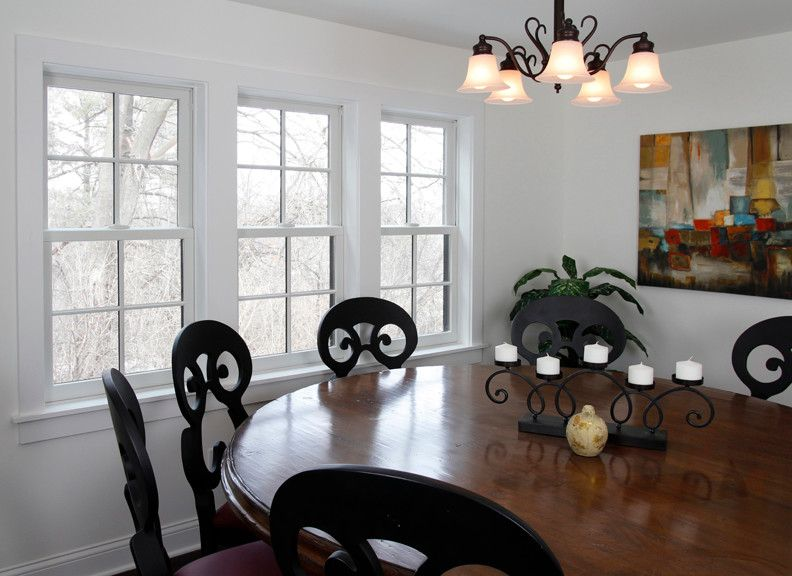 Waunakee Remodeling for a Contemporary Dining Room with a Grilles and Waunakee Remodeling Window Project 3 by Waunakee Remodeling