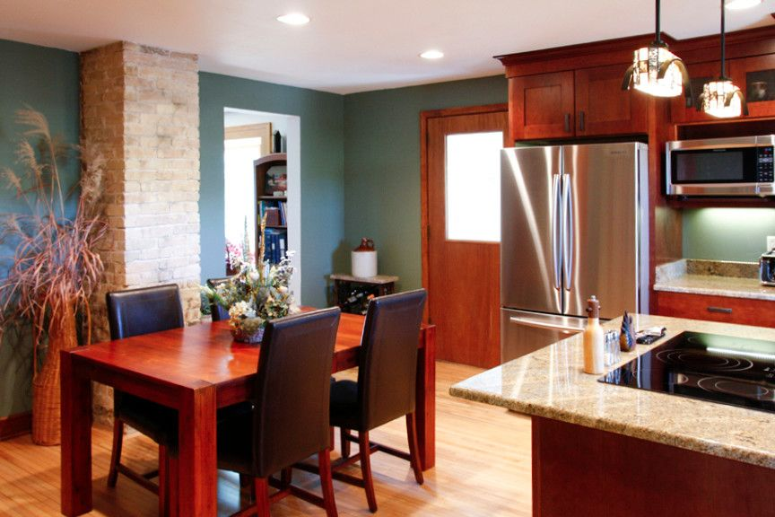 Waunakee Remodeling for a Transitional Kitchen with a Madison Wi and Waunakee Remodeling Kitchen 1 by Waunakee Remodeling