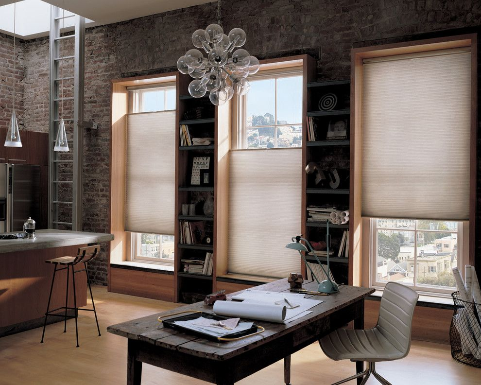Wausau Windows for a Contemporary Spaces with a Accent Window Fashions Hunter Douglas and Home Office Ideas by Accent Window Fashions Llc