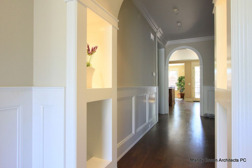 Waynes Coating for a Contemporary Hall with a Contemporary and Hall  Detail by Mandy Brown Architects, Pc