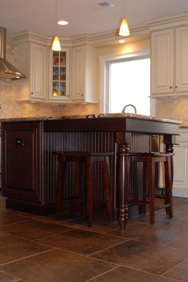 Waypoint Cabinets for a Traditional Kitchen with a Waypoint Living Spaces and Cranbury Design Center by Cranbury Design Center Llc