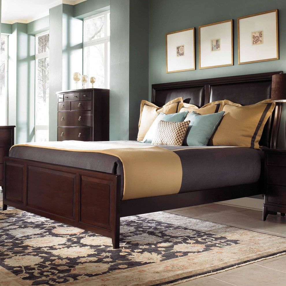 Wayside Furniture for a Traditional Bedroom with a Wood Bed Frame and Some of the Products We Offer by Wayside Furniture