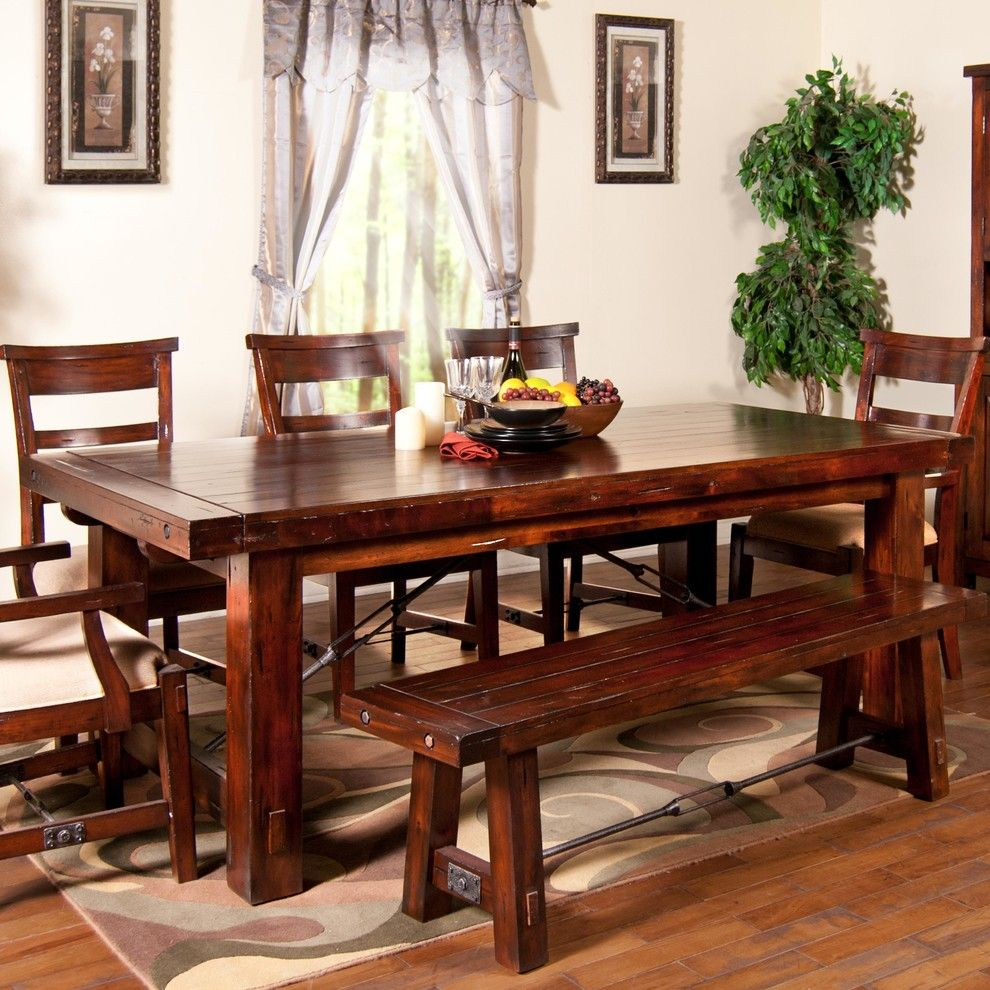 Wayside Furniture for a Traditional Dining Room with a Wood Table and Some of the Products We Offer by Wayside Furniture