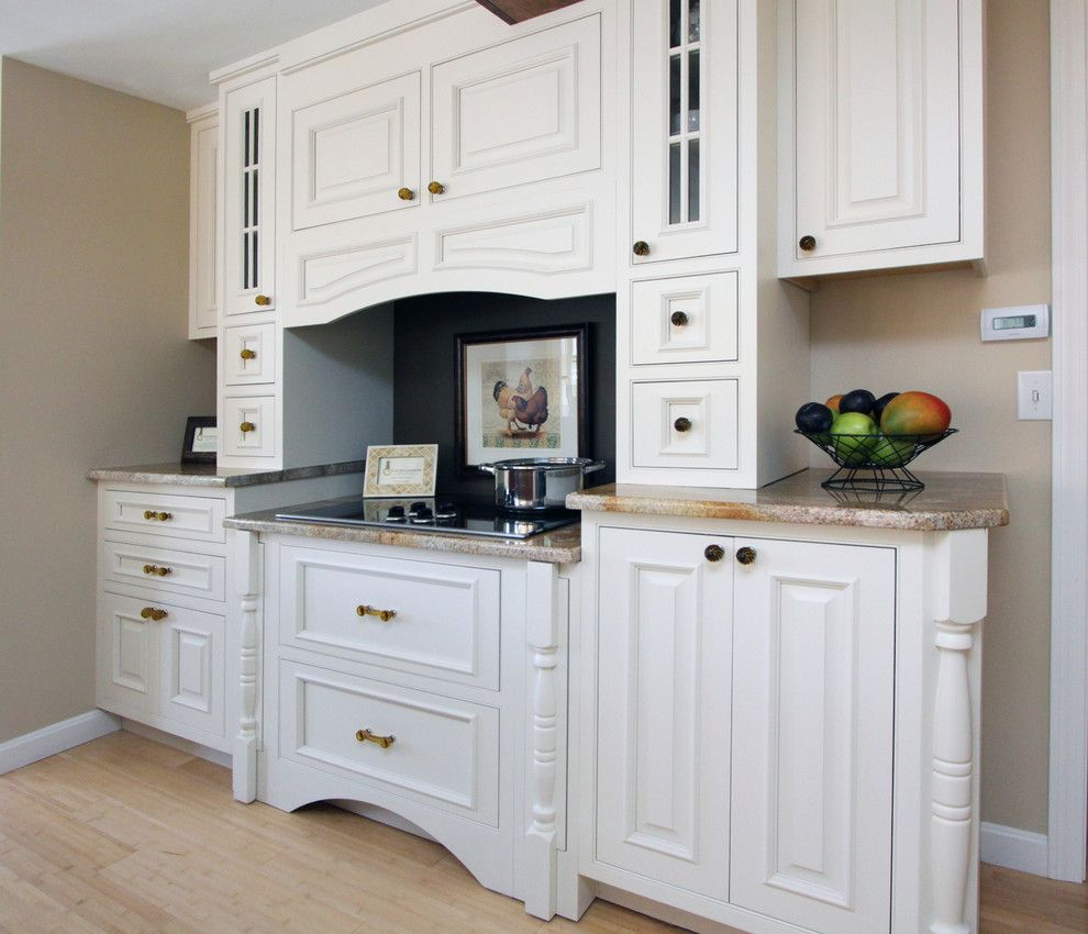 Wayside Furniture for a Traditional Kitchen with a Kitchen Hardware and Wayside Kitchens by Wayside Kitchens