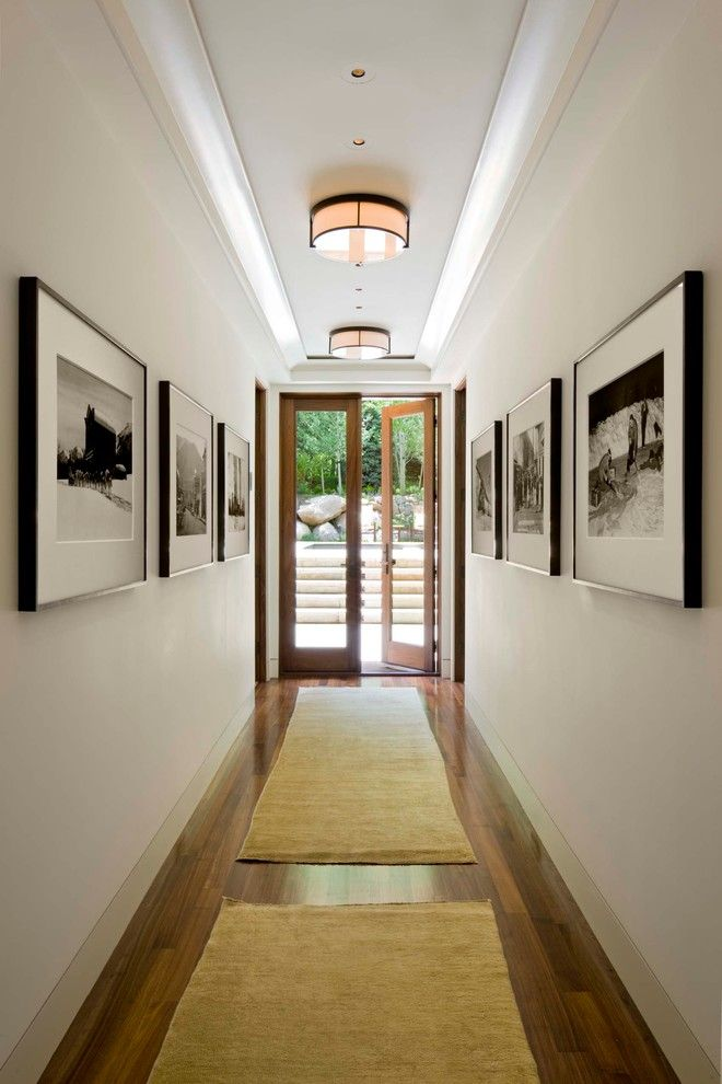 Wesley Hall Furniture for a Transitional Hall with a Entry and Hall by Architecture   Interiors   Planning