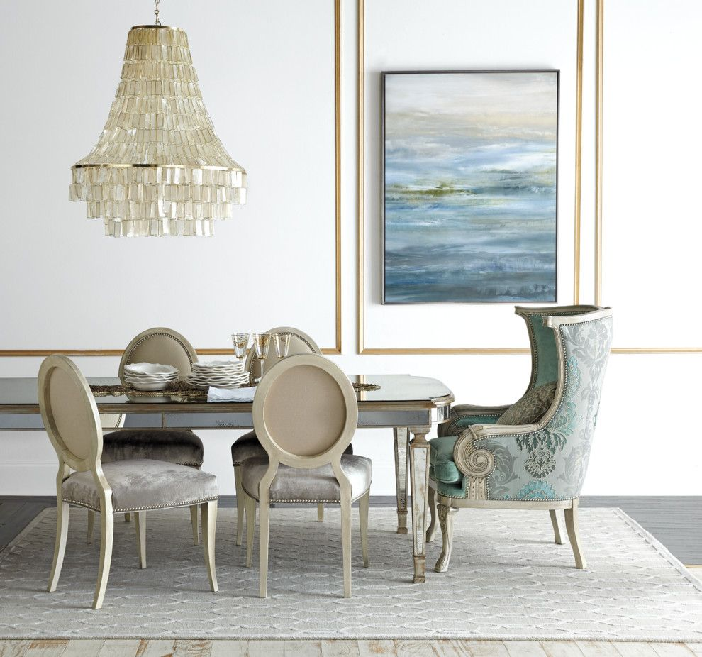 West Elm Customer Service for a Contemporary Dining Room with a Wall Paneling and Horchow by Horchow