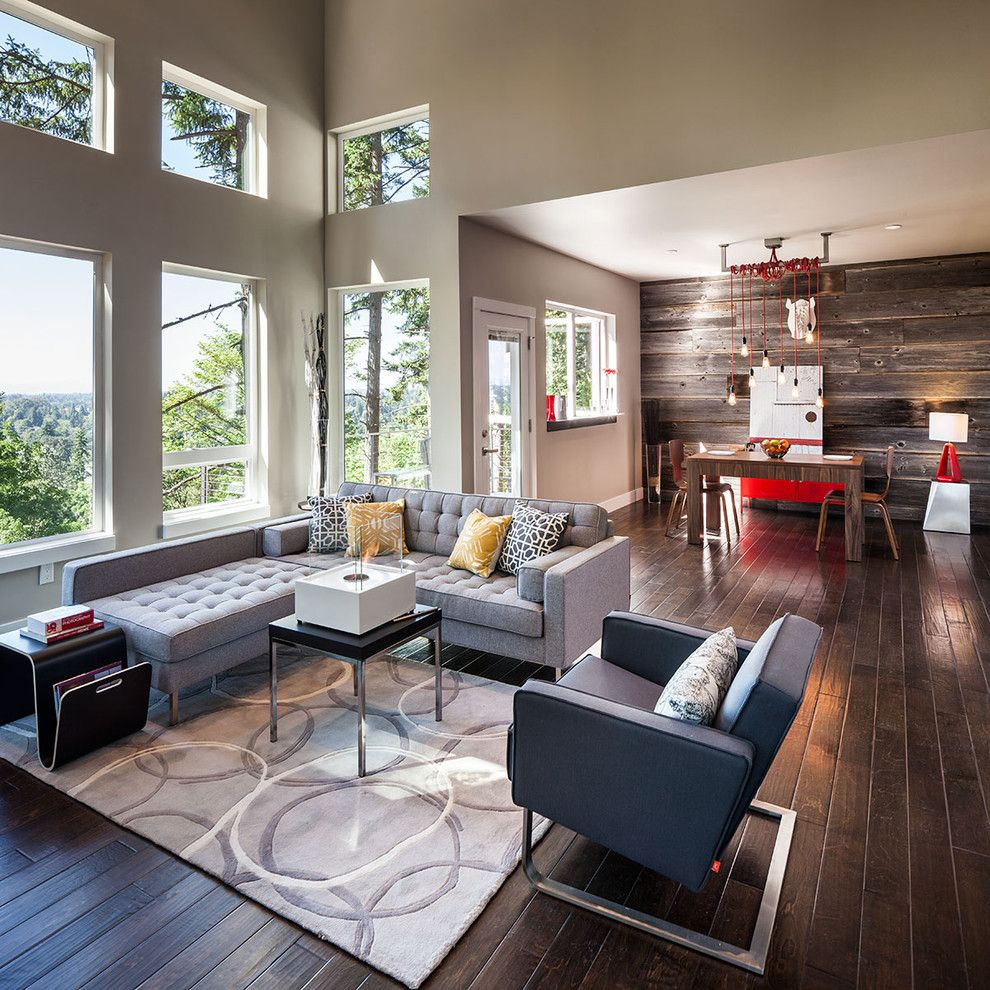 West Elm Customer Service for a Contemporary Living Room with a Industrial and Hilltop House | Grand Vista Subdivision by Jordan Iverson Signature Homes