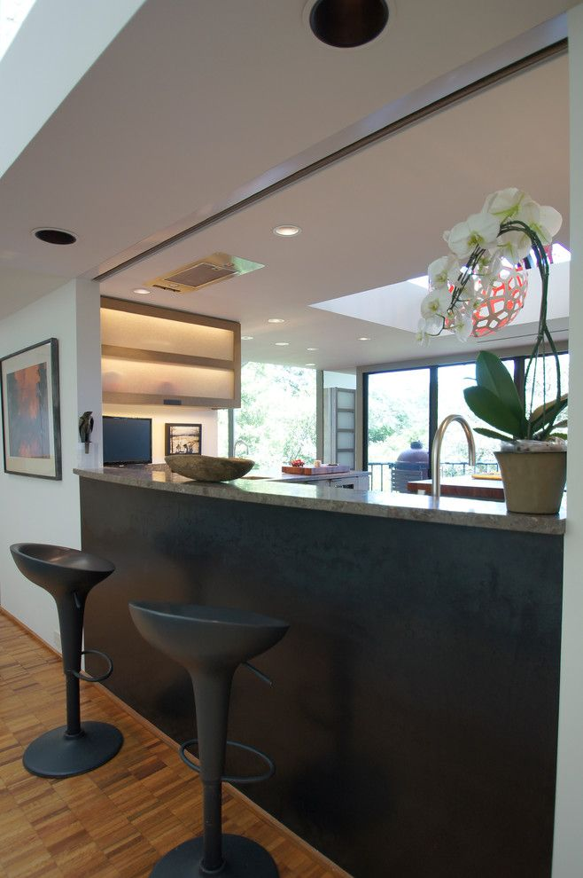 Westlake Residential for a Modern Kitchen with a Shoji Screen and Westlake Kitchen Remodel by Meier Residential