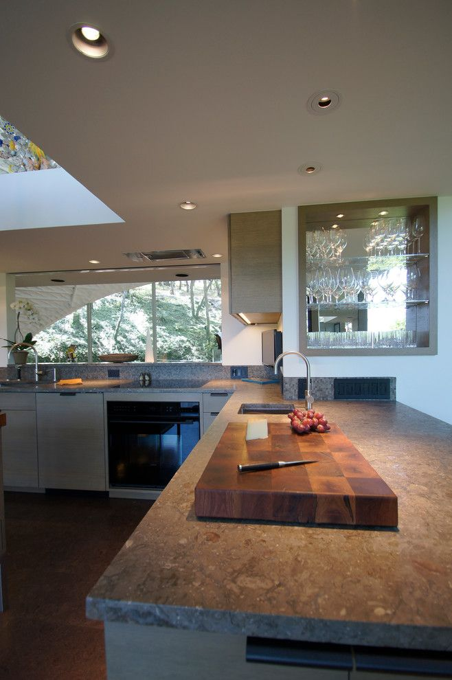 Westlake Residential for a Modern Kitchen with a Sub Zero and Westlake Kitchen Remodel by Meier Residential