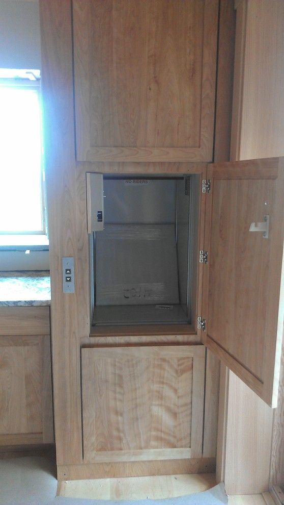 What is a Dumbwaiter for a  Spaces with a  and Dumbwaiters for the Home by All Ways Accessible, Inc.