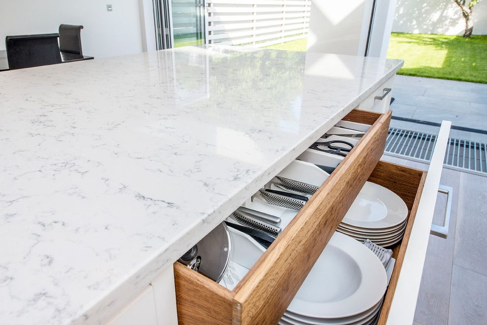 What is Silestone for a Contemporary Kitchen with a Contemporary and Bishops Park by Cato Creative Ltd