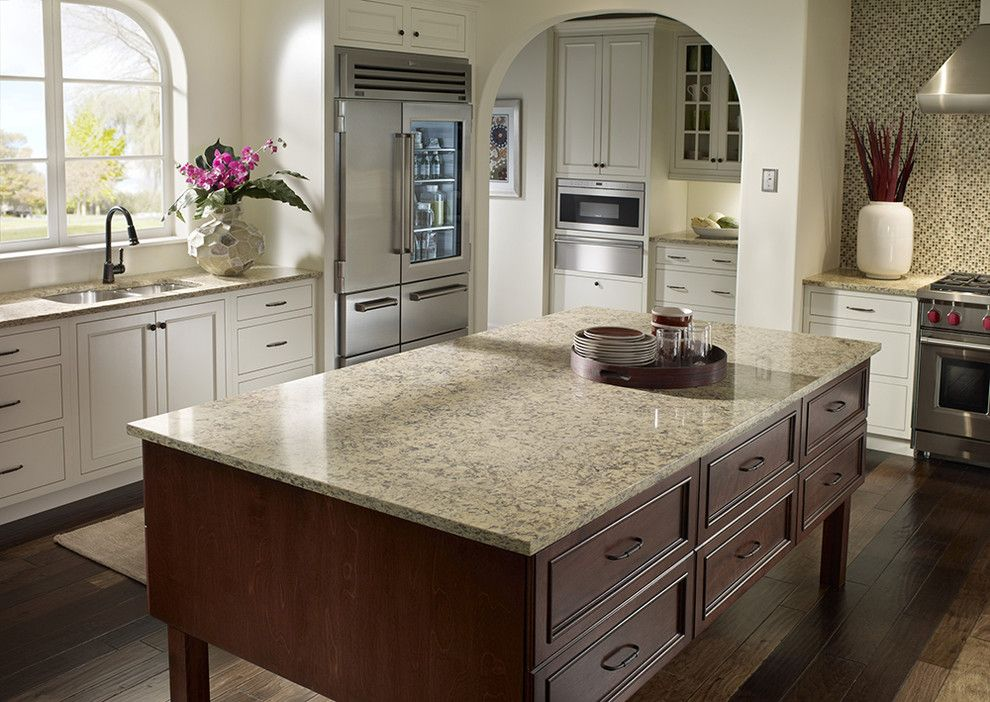 What is Silestone for a Traditional Kitchen with a Silestone and Traditional Kitchen by silestoneusa.com