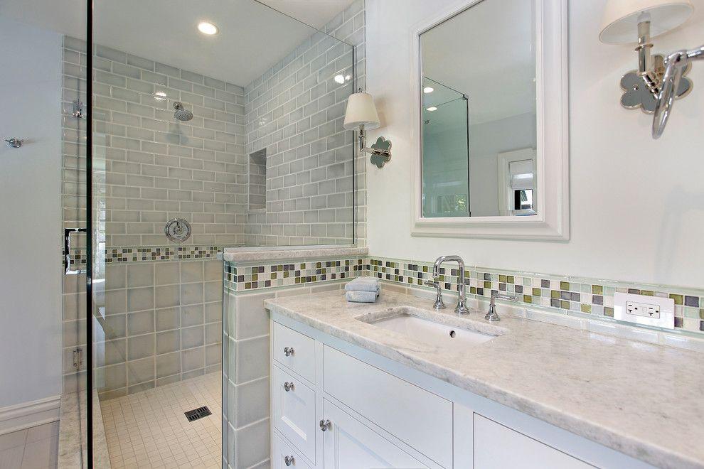 White Princess Quartzite for a Contemporary Bathroom with a Contemporary and Contemporary Bathroom by 2designgroup.com