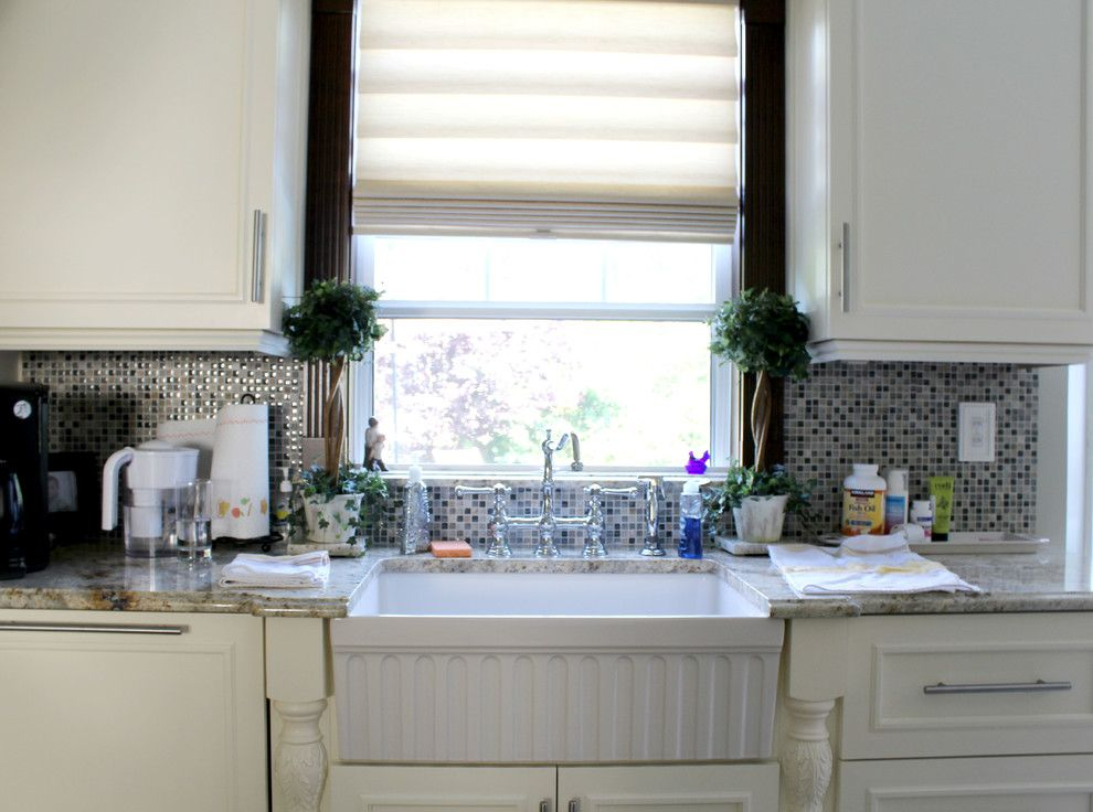 Whitehaus for a Traditional Kitchen with a Whitehaus Fireclay and Whitehaus Kitchen by Decor Island