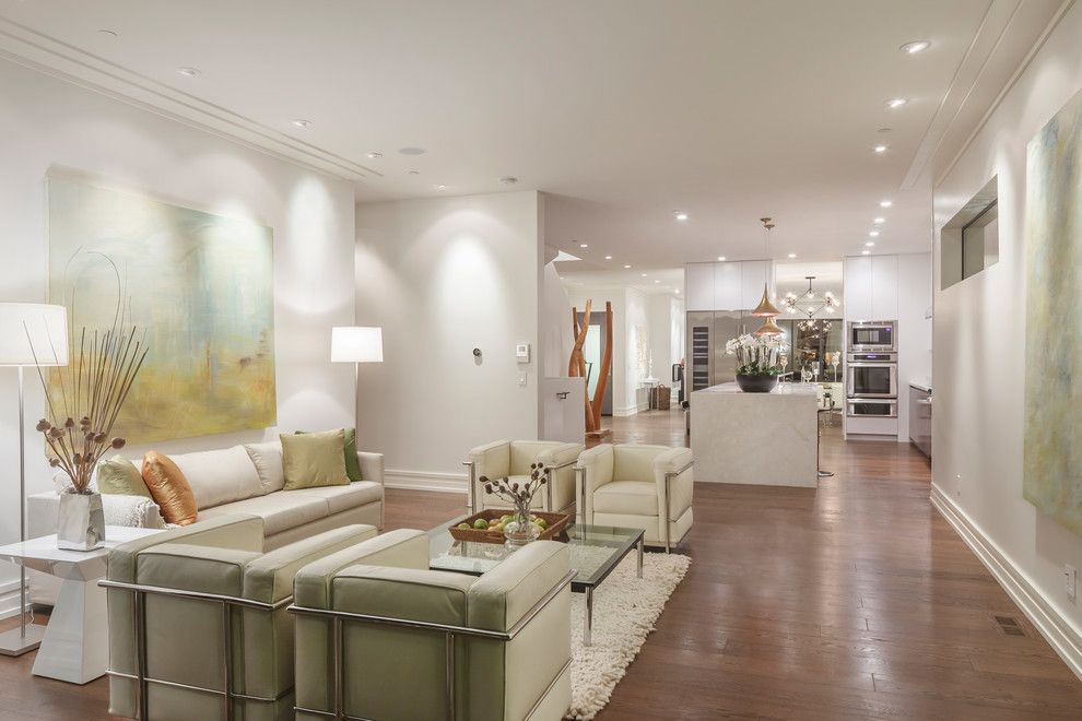 Whitley Furniture for a Contemporary Living Room with a Contemporary and San Francisco by Ferguson Bath, Kitchen & Lighting Gallery