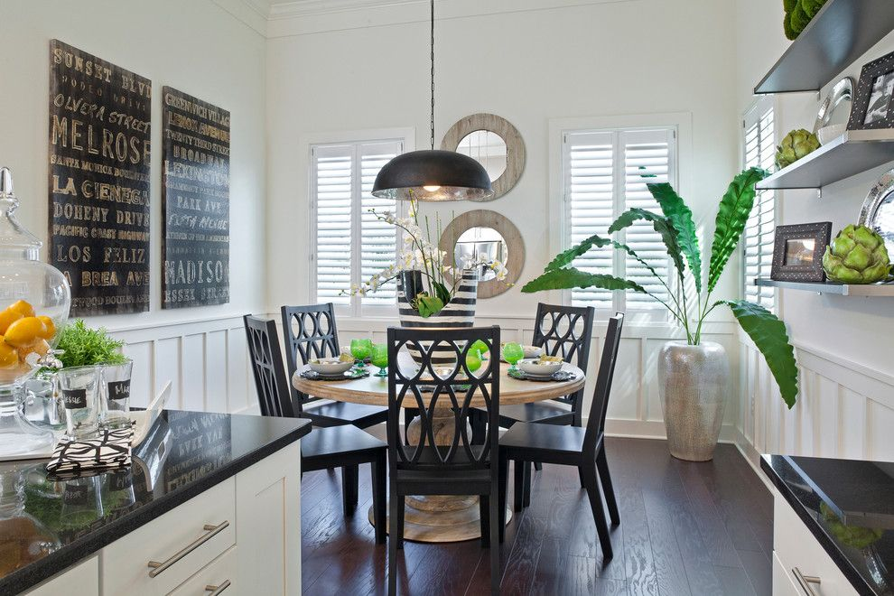 Whitley Furniture for a  Kitchen with a Dining and Interior Design Gallery by Masterpiece Design Group