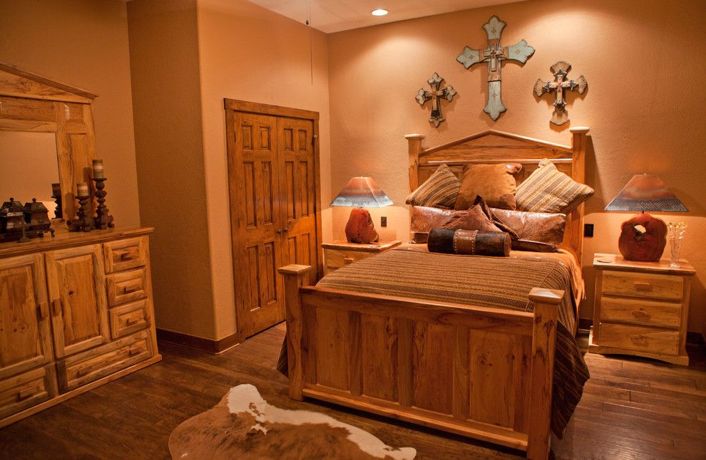 Whitley Furniture for a Rustic Bedroom with a Rustic and Texas Home by Whitley & Co. Interior Design