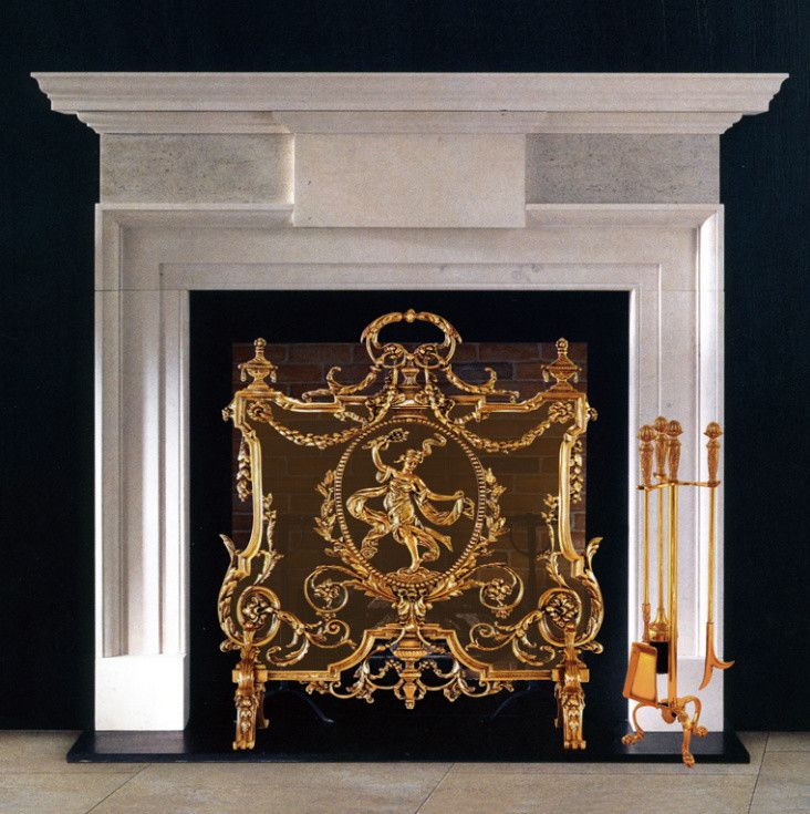 Wilshire Fireplace for a Traditional Living Room with a Traditional and Wilshire Fireplace Mantels by Wilshire and Okell's Fireplace Shops