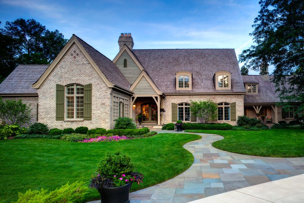Wilson Parker Homes for a Traditional Landscape with a Grass and Just a Fabulous Place to Call Home by Hursthouse Landscape Architects and Contractors