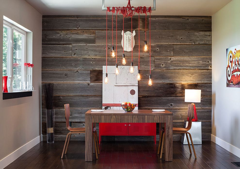 Wolfers Lighting for a Contemporary Dining Room with a Urban and Hilltop House | Grand Vista Subdivision by Jordan Iverson Signature Homes