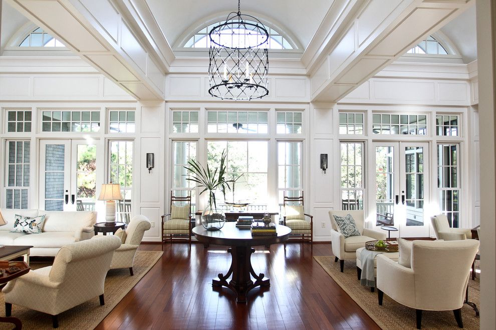 Wolfers Lighting for a Traditional Living Room with a White Couch and Comfortable Luxury by Margaret Donaldson Interiors