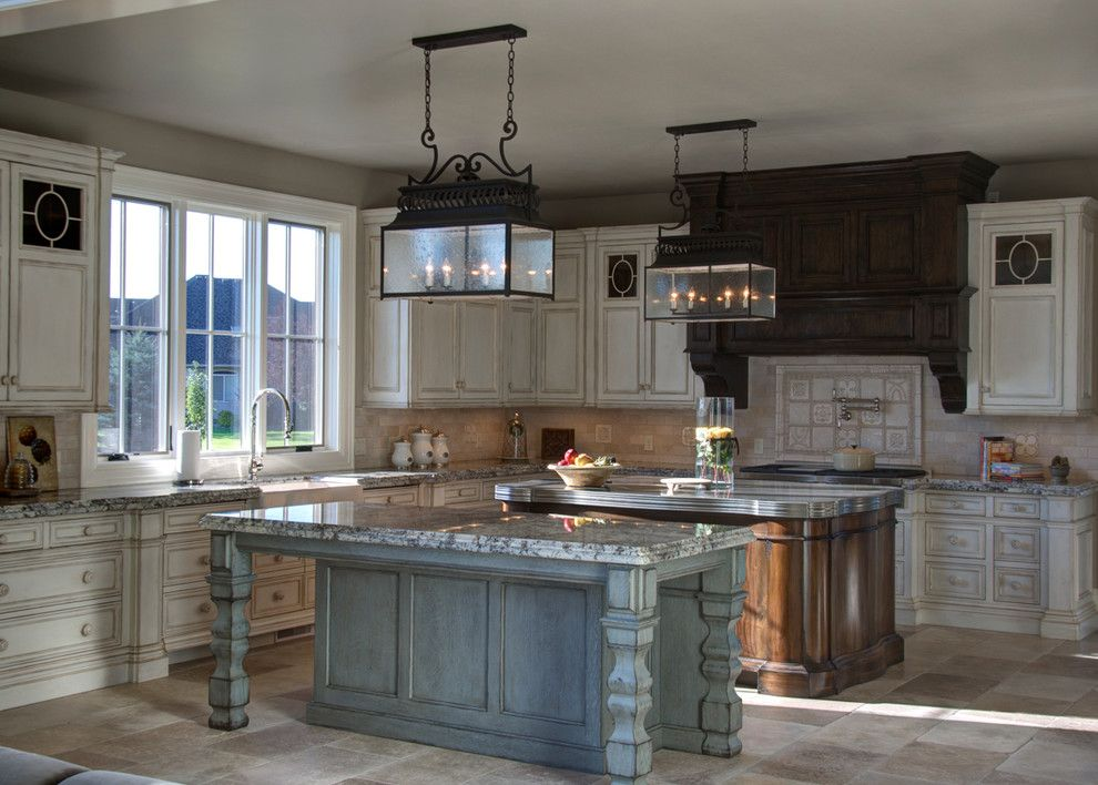 Woodland Cabinetry for a Traditional Spaces with a Clothes Drying Rack and Township Kitchen by Woodland Cabinetry by Woodland Furniture