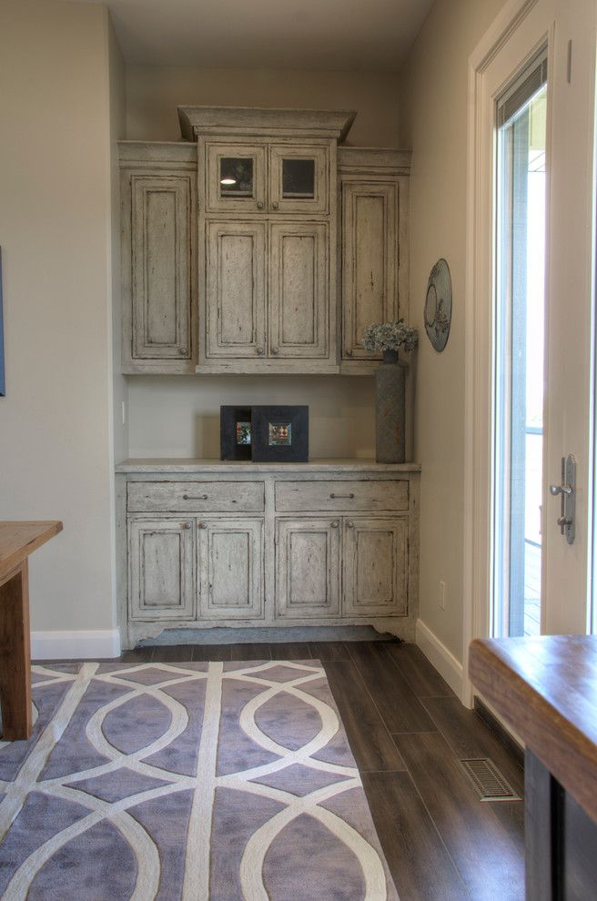 Woodland Cabinetry for a Transitional Spaces with a Cabinetry and Falcon Ridge Built in Cabinet by Woodland Cabinetry by Woodland Furniture