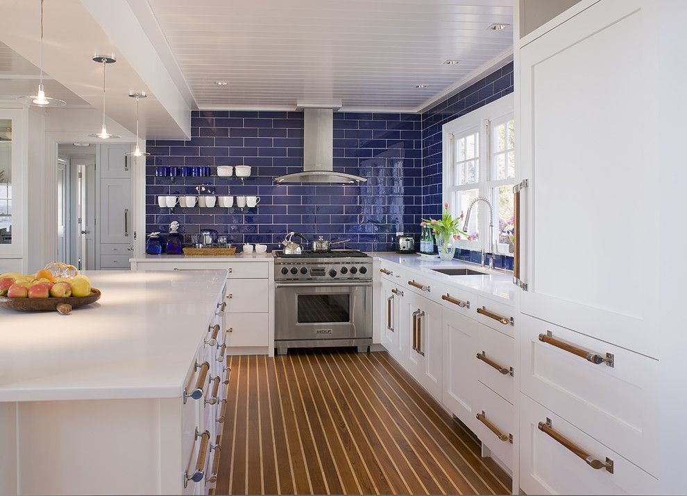Woodworkers Hardware for a Beach Style Kitchen with a Michael Mckinley and Associates and Coastal Contemporary Kitchen Renovation by Michael McKinley and Associates, LLC