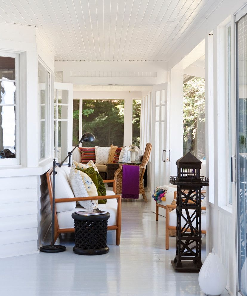 Worts for a  Spaces with a Indoor Outdoor Living and Cottages by Jennifer Worts Design Inc.